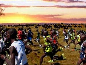 Un maratón de dos horas equivale a 422 esprines seguidos de 100m a 17s cada uno.